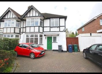 Thumbnail 4 bed semi-detached house to rent in Manor Road, London