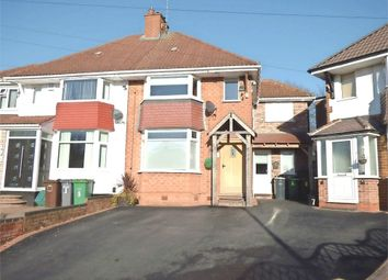Thumbnail 4 bedroom semi-detached house for sale in Wentworth Road, Solihull, West Midlands