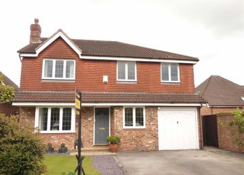 Thumbnail 4 bedroom detached house for sale in Ploughmans Way, Macclesfield, Cheshire