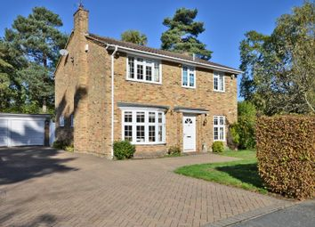 Thumbnail 4 bed detached house to rent in Hillsborough Park, Camberley