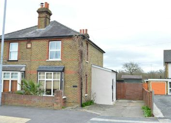 Thumbnail 2 bed semi-detached house for sale in Chessington Parade, Leatherhead Road, Chessington