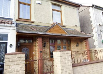 Thumbnail 4 bed semi-detached house for sale in Tonyrefail -, Porth