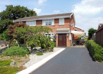 Thumbnail 3 bed semi-detached house for sale in Norman Drive, Winsford