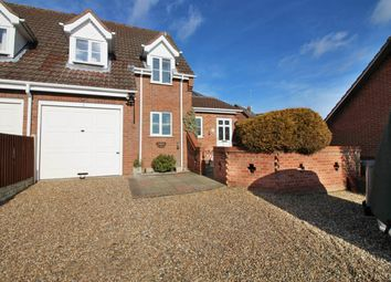 Thumbnail 3 bedroom semi-detached house for sale in Danesbower Lane, Blofield, Norwich
