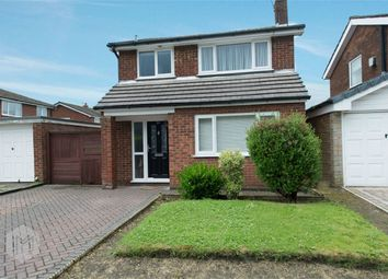 Thumbnail 3 bed detached house for sale in Brynhall Close, Radcliffe, Manchester, Lancashire