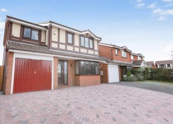 Thumbnail 4 bed detached house for sale in Maree Grove, Willenhall