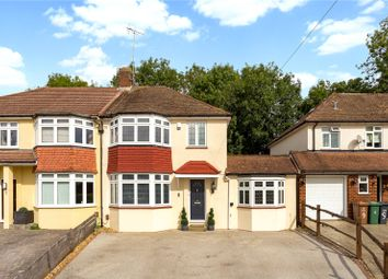 Thumbnail 4 bed semi-detached house for sale in Hill View Close, Tadworth, Surrey