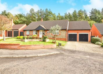 Thumbnail 3 bedroom detached bungalow for sale in Gorse Close, Fakenham