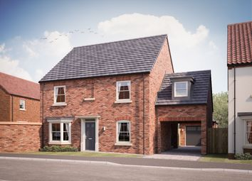 Thumbnail 4 bed detached house for sale in Fountains Way, North Cave
