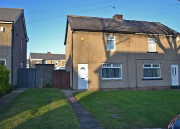 Thumbnail 2 bed semi-detached house for sale in Grange Avenue, Shiremoor, Newcastle Upon Tyne
