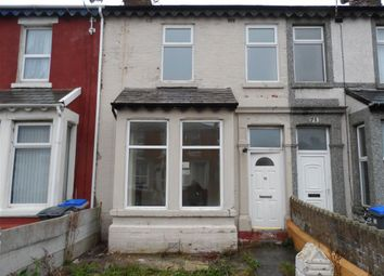 Thumbnail 3 bedroom terraced house for sale in Gorton Street, Blackpool