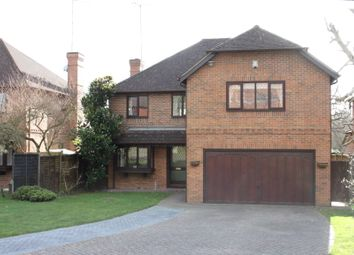 Thumbnail 5 bed detached house for sale in Lych Gate Close, Sandhurst