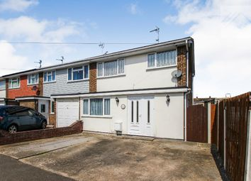 Thumbnail 3 bed semi-detached house for sale in Southwalters, Canvey Island
