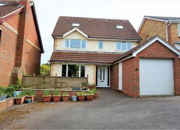 Thumbnail 5 bedroom detached house for sale in Tamarisk Close, Basingstoke