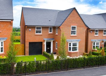 "Thumbnail 4 bed detached house for sale in ""Drummond"" at Stanneylands Road, Wilmslow"