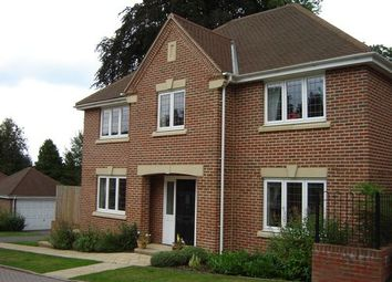 Thumbnail 4 bed detached house to rent in Vicarage Close, Colgate, West Sussex