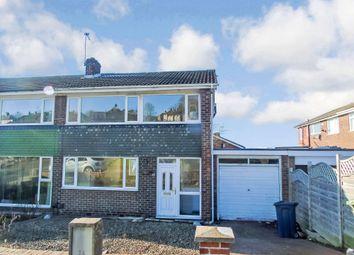 Thumbnail 3 bedroom semi-detached house to rent in Gleneagles Road, Gateshead