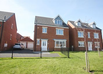 Thumbnail 4 bed detached house for sale in Lambley Crescent, Seaton Delaval, Whitley Bay