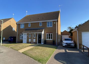 Thumbnail 3 bed semi-detached house for sale in Johnson Way, Parkhill, Lowestoft