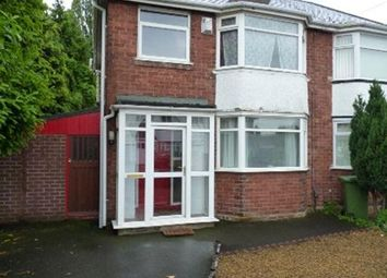Thumbnail 3 bed semi-detached house to rent in Renton Road, Wolverhampton