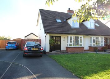 Thumbnail 3 bed semi-detached house for sale in Tudor Road, Carrickfergus