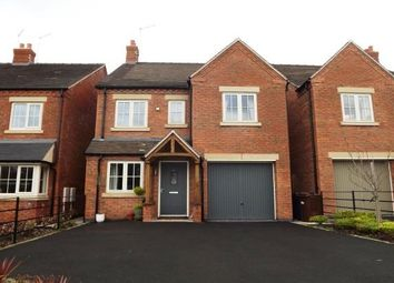 Thumbnail 4 bed detached house to rent in Beacon Road, Rolleston-On-Dove, Burton-On-Trent