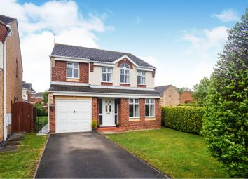 Thumbnail 4 bedroom detached house for sale in Wentworth Close, Saxilby