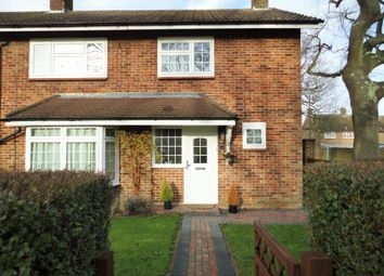 Thumbnail 4 bed end terrace house for sale in Chichester Close, Crawley