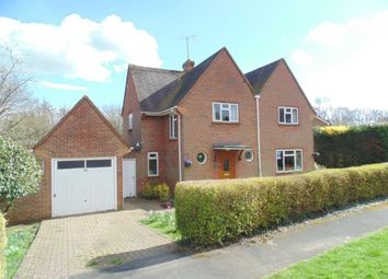 Thumbnail 4 bedroom detached house for sale in Neville Close, Basingstoke