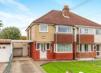Thumbnail 3 bed semi-detached house for sale in Fair Oak Road, Bishopstoke, Eastleigh