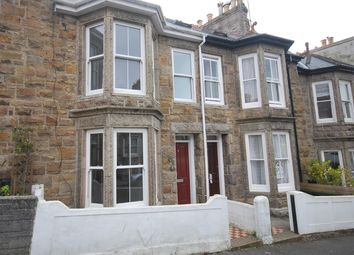 Thumbnail 3 bed terraced house to rent in Barwis Hill, Penzance