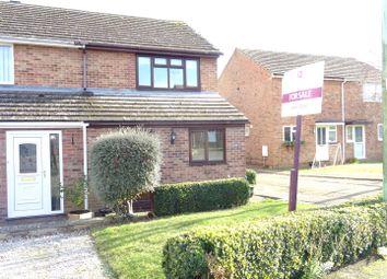 Thumbnail 4 bedroom semi-detached house for sale in Foxglove Avenue, Needham Market, Ipswich