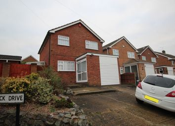 Thumbnail 3 bed detached house for sale in Quantock Drive, Nuneaton