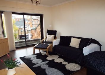 Thumbnail 2 bed flat to rent in University Road, Leicester