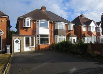 Thumbnail 3 bed semi-detached house for sale in Bramley Croft, Shirley, Solihull