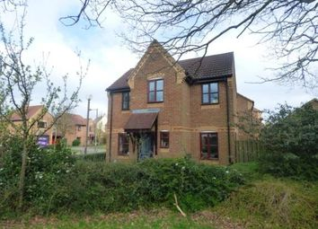 Thumbnail 3 bed detached house for sale in Bridlington Crescent, Monkston, Milton Keynes