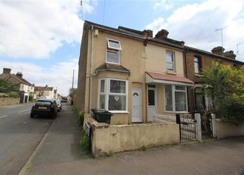 Thumbnail 2 bed end terrace house for sale in Eglington Road, Swanscombe, Swanscombe