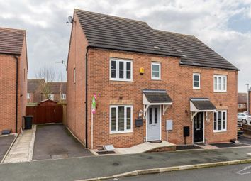 Thumbnail 3 bed semi-detached house for sale in Spencroft Close, Norton, Stoke-On-Trent