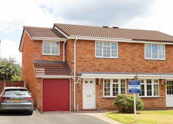 Thumbnail 3 bedroom semi-detached house for sale in Oleander Close, The Rock, Telford