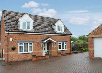 Thumbnail 4 bed detached house for sale in Donisthorpe, Derbyshire