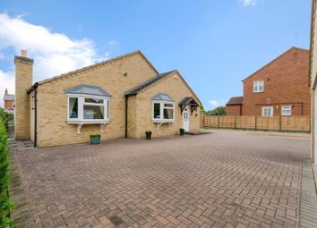 Thumbnail 4 bed detached bungalow for sale in Nursery Close, Langworth, Lincoln