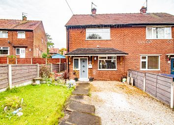 Thumbnail 2 bed semi-detached house for sale in Manor Close, Denton, Manchester