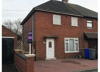 Thumbnail 2 bed semi-detached house for sale in Leek Road, Stoke-On-Trent