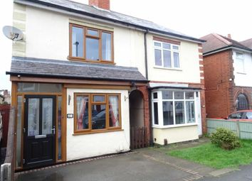 Thumbnail 2 bedroom semi-detached house for sale in Clarendon Road, Hinckley