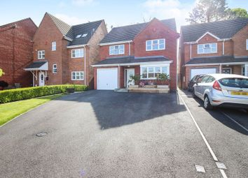 Thumbnail 4 bed detached house for sale in Abbotts Road, Leek, Staffordshire