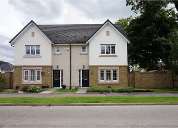 Thumbnail 3 bed semi-detached house for sale in Drysdale Avenue, Larbert