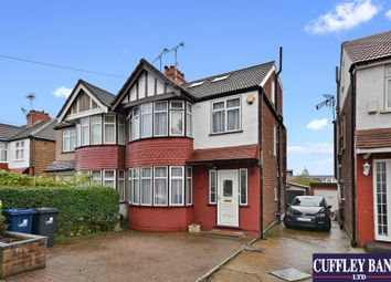 Thumbnail 4 bed semi-detached house for sale in Rydal Crescent, Perivale, Greenford