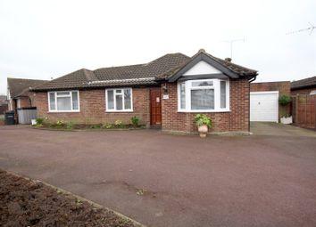 Thumbnail 3 bed detached bungalow for sale in Fordbridge Close, Chertsey, Surrey