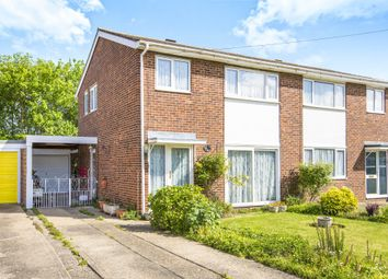 Thumbnail 3 bedroom semi-detached house for sale in Andrew Road, Eynesbury, St. Neots