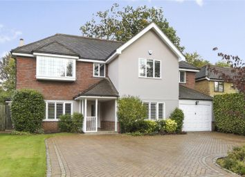 Thumbnail 5 bed detached house for sale in The Heronry, Hersham, Walton-On-Thames, Surrey